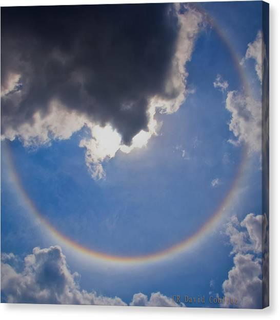 Circular Rainbow-large Canvas Print