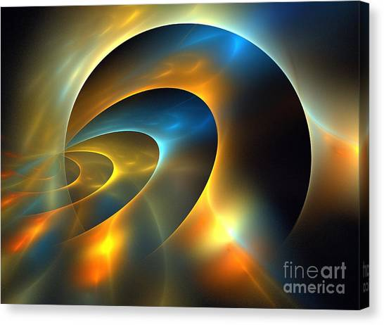 Circumbinary Canvas Print