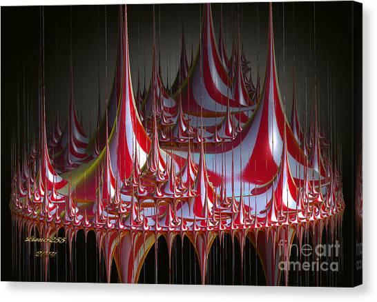 Circus-circus Canvas Print