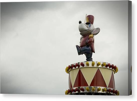 Circus Mouse Canvas Print