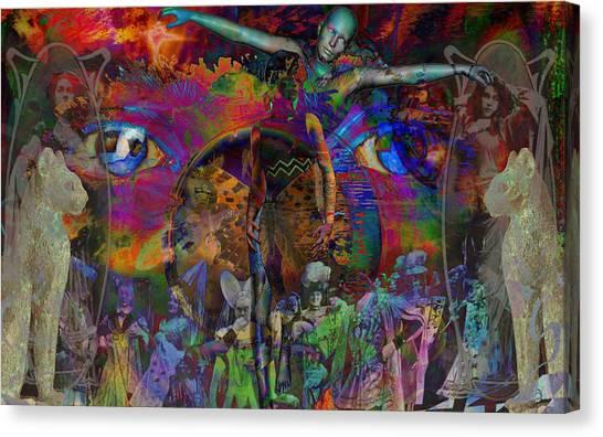 Solar Mind Canvas Print