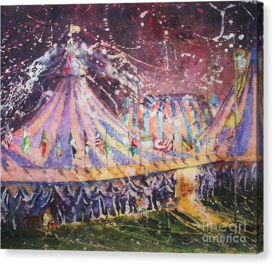 Cirque Magic Canvas Print