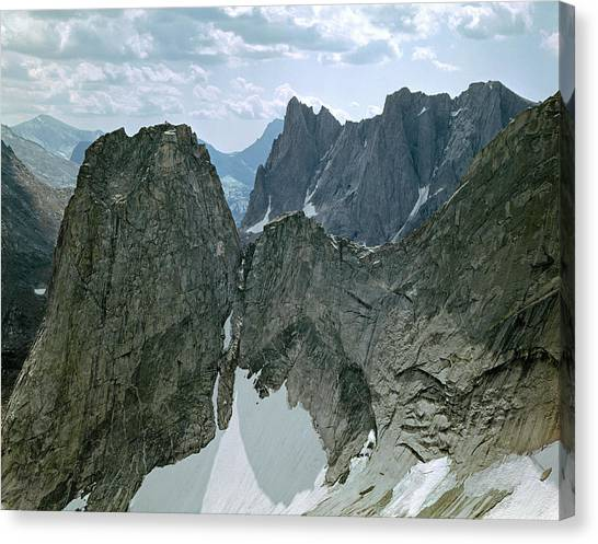 209615-cirque Of Towers, Wind Rivers, Wy Canvas Print
