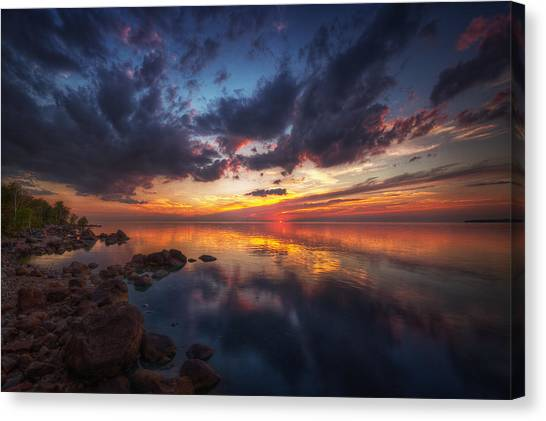 Cirrus Reflections Canvas Print
