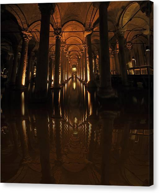 Cisterna Basilica Canvas Print by Ivana Miletic