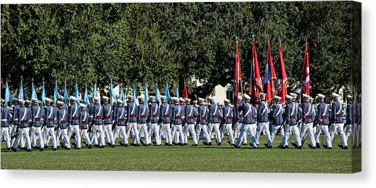 Return To Ranks Canvas Print
