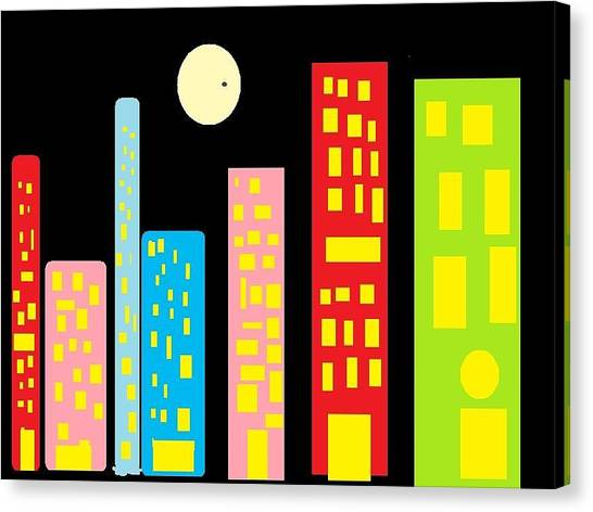 City 23 Canvas Print