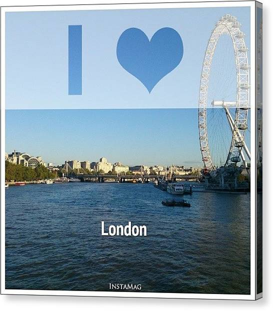 United Kingdom Canvas Print - #city #cities #capital #ldn #uk by Paul Petey