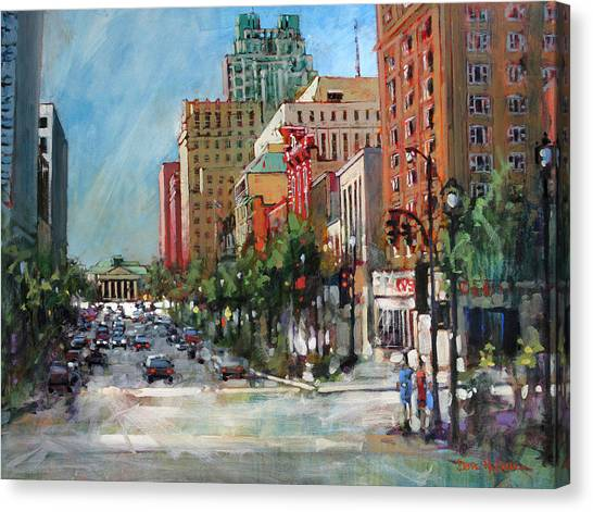 City Color Canvas Print