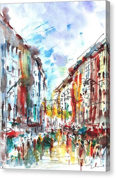 City Life... Canvas Print