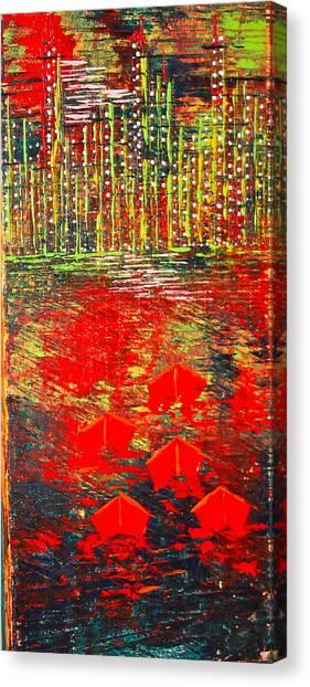 City Lights - Sold Canvas Print
