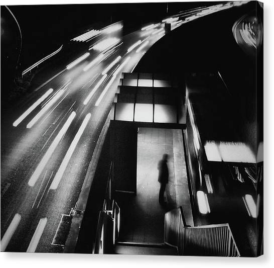 City Lights Canvas Print by Holger Droste
