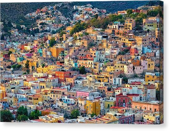 City Of Guanajuato Canvas Print