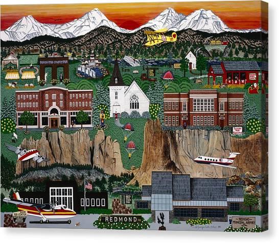 City Of Redmond Canvas Print