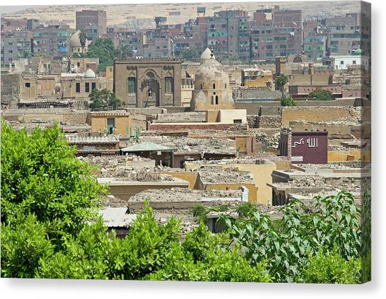 City Of The Dead Canvas Print - City Of The Dead, Cairo, Egypt by Nico Tondini