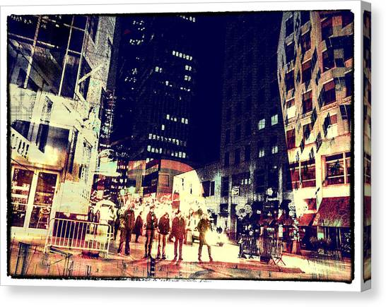 City People Canvas Print