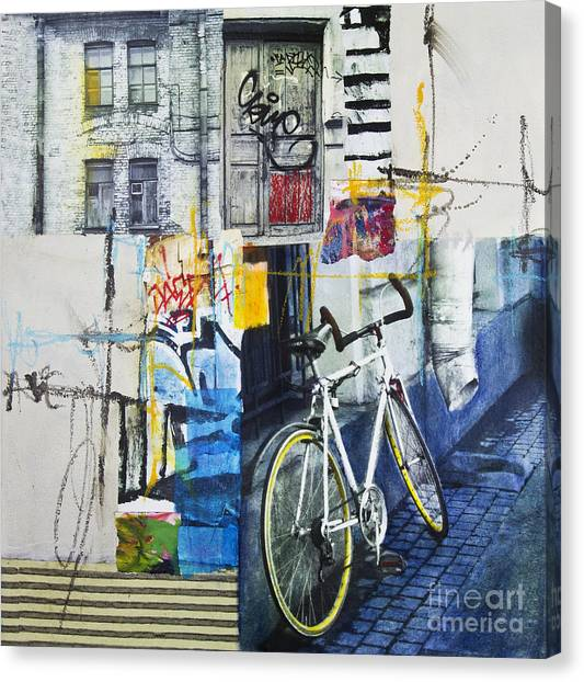 City Poetry Canvas Print