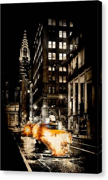 London Tube Canvas Print - City Streets  by Az Jackson