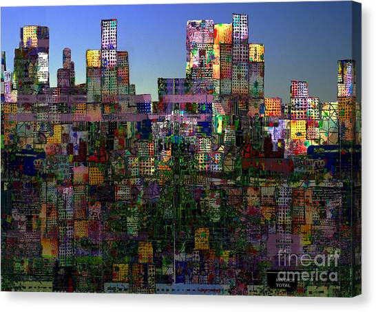 City Sunrises Canvas Print - City Sunrise 13 by Andy  Mercer