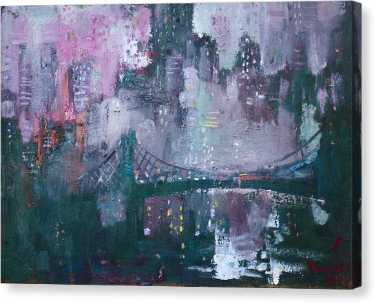 Times Square Canvas Print - City That Never Sleeps by Ylli Haruni