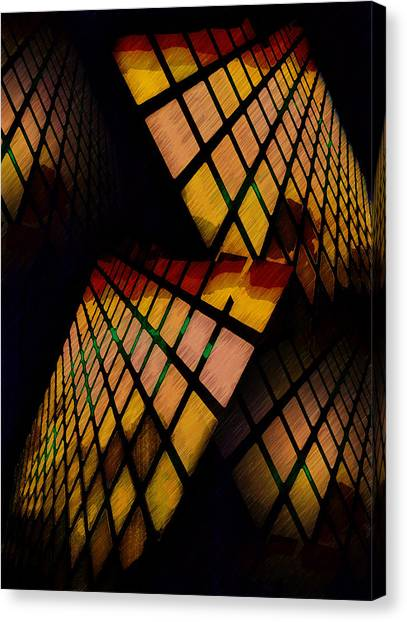City View Abstract Canvas Print