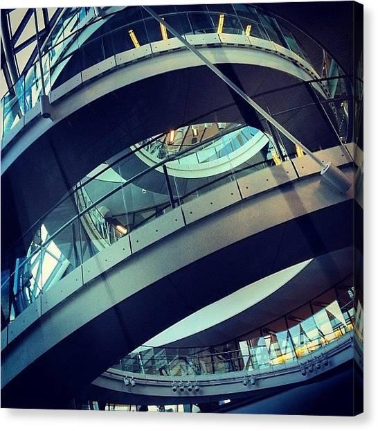 Vertigo Canvas Print - #cityhall #london by Ivan Bortot