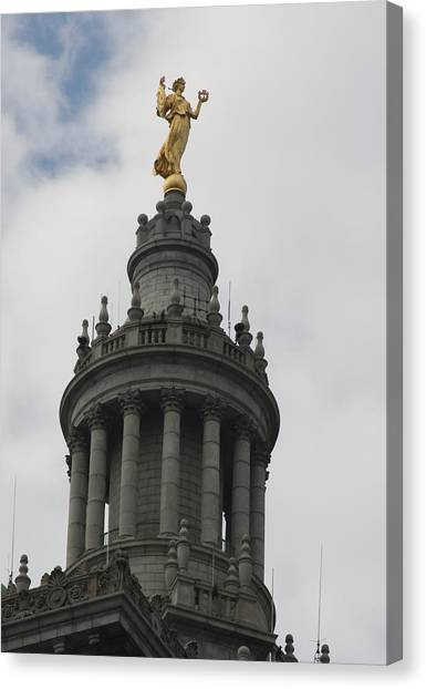 Architectur Canvas Print - Civic Fame - Victory And Triumph by Vadim Levin
