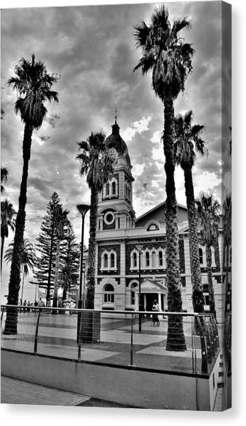Civic Splendour - Glenelg Beach - Australia Canvas Print