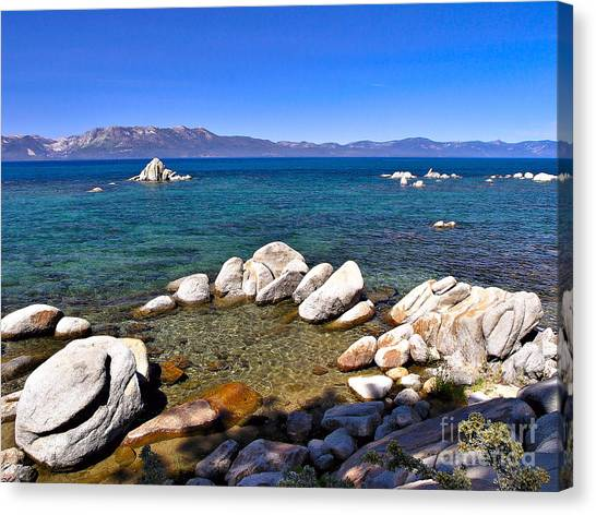 Clarity - Lake Tahoe Canvas Print
