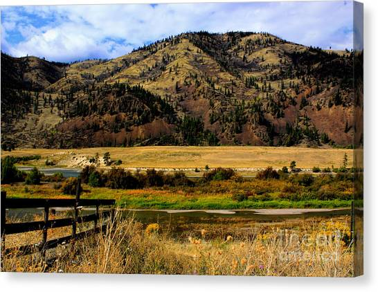 Clark Fork River Canvas Print