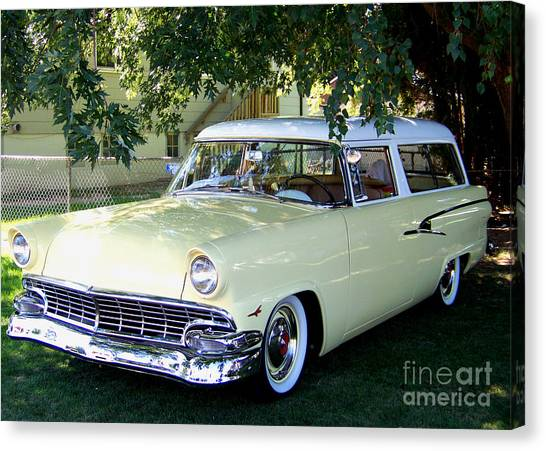 Classic 1956 Ford Ranch Wagon Canvas Print