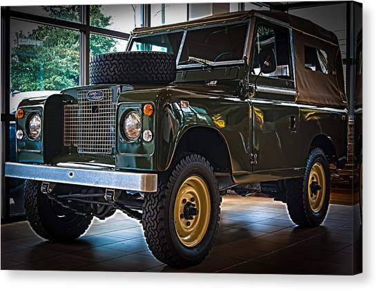 Classic 1969 Land Rover Series IIa Canvas Print
