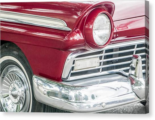 Classic 50s Style Canvas Print