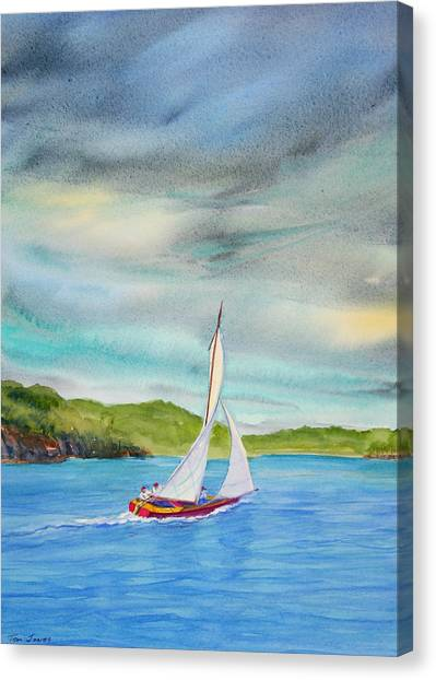 Classic Afternoon Canvas Print by Teri  Jones