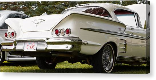 Classic American Car Canvas Print