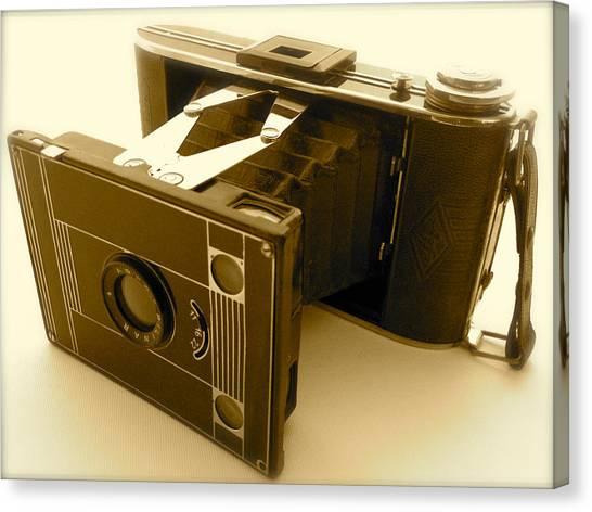 Classic Bellows Folding Camera Canvas Print