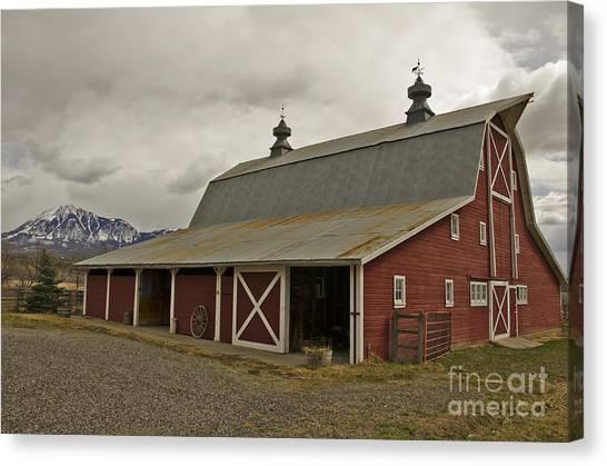 Classic Colorado Country  Canvas Print