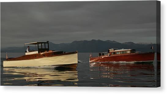 Lake Tahoe Classics Canvas Print