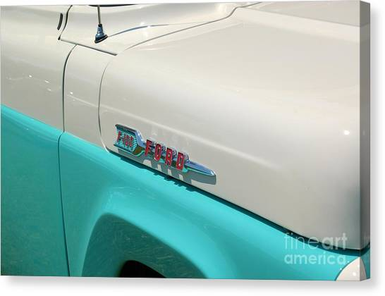 Classic Ford Canvas Print