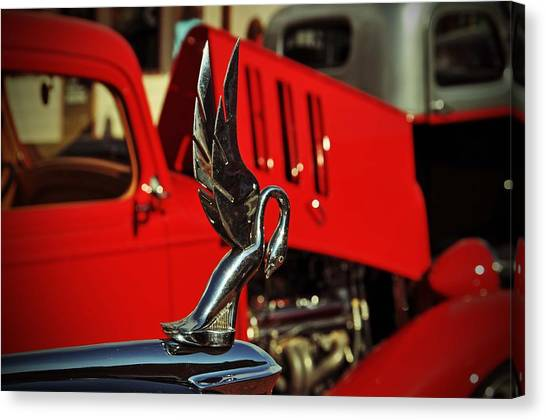 Classic Hood Ornament  Canvas Print