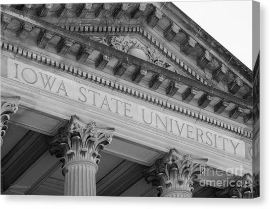 Iowa State University Canvas Print - Classic Iowa State University by University Icons