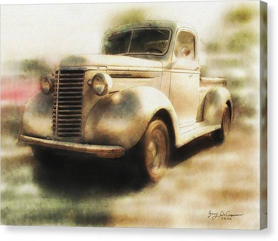 Classic Pickup Canvas Print