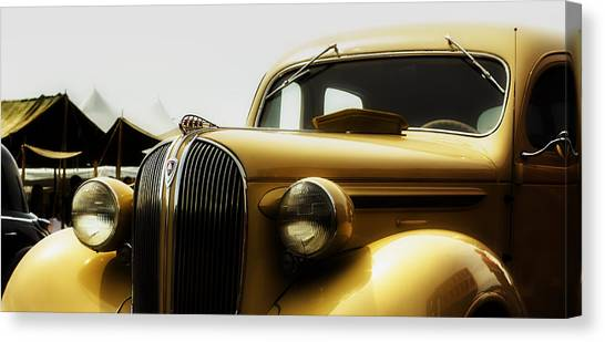 Classic Plymouth Canvas Print