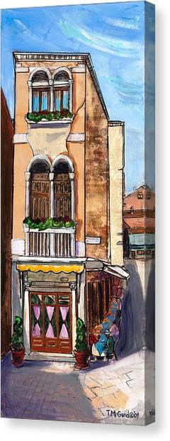 Canvas Print featuring the painting Classic Venice by TM Gand