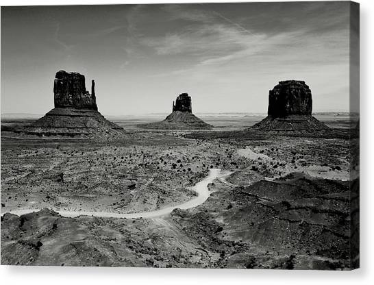 Wild West Canvas Print - Classic West by Benjamin Yeager