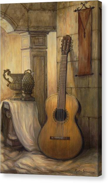 Classical Guitars Canvas Print - Classical Dream by Martin Lacasse