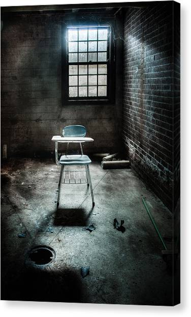 Classroom - School - Class For One Canvas Print