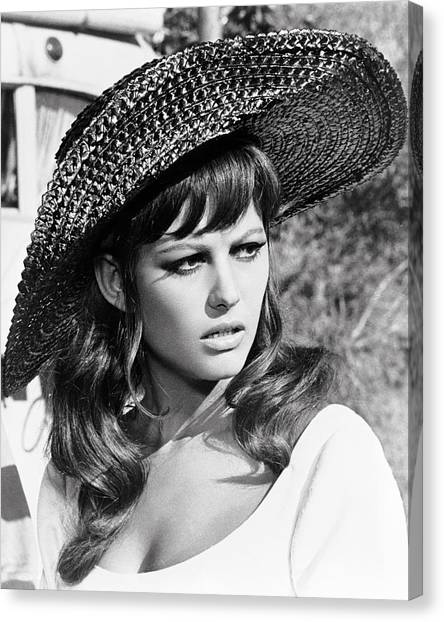 Claudia Cardinale In Don't Make Waves  Canvas Print by Silver Screen