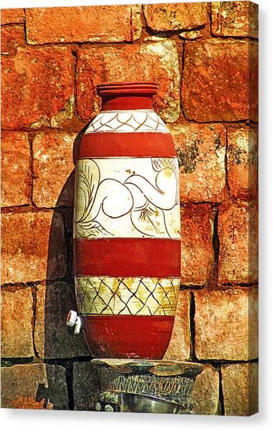Clay Art Canvas Print