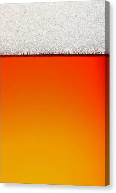 Lager Canvas Print - Clean Beer Background by Johan Swanepoel